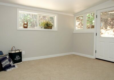 Bedroom looking at door Electric Street Auburn CA