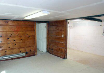 Unfinished basement Electric Street Auburn CA