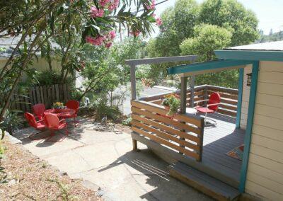 View of deck Electric Street Auburn CA