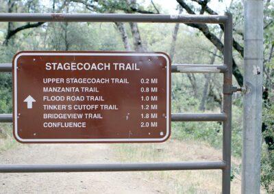 Hiking trails near Electric Street