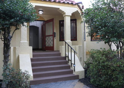 Front Entrance Angled