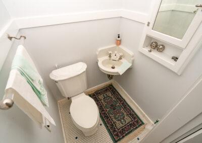 Bedrooms half bath