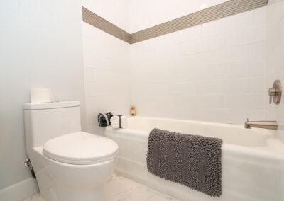 Bath hallway bathtub