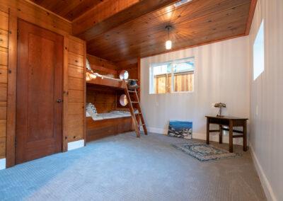 Downstairs Bedroom bunk beds