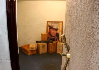 Safe room inside