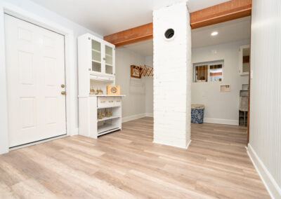 Downstairs Utility area