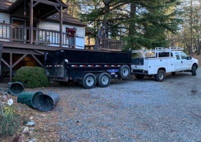 Deck railing removal