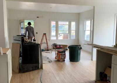 411 Pleasant St Renovate inside living room