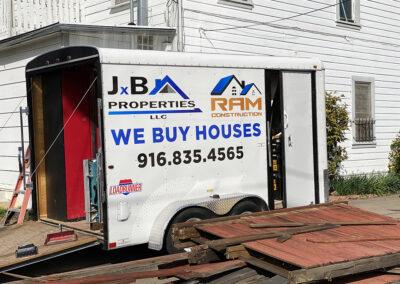 JxB Properties Crew truck