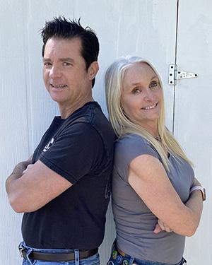 Jason and Bridget owners of JxB Properties