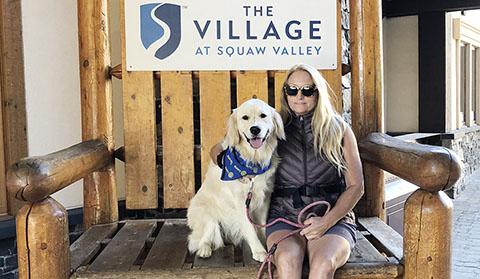Bridget as Squaw Valley